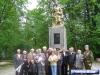 Ветерани біля братської могили на старому цвинтарі